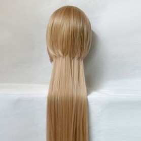 StarrySky Flax Brown Rear-long Wig
