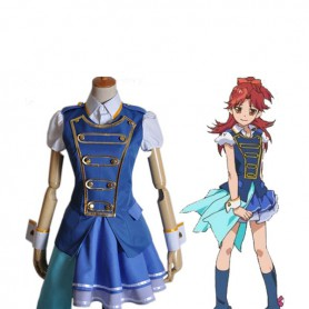 AKB0048 Cosplay Kanata Shinonome Blue Cosplay Costume