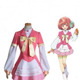 AKB0048 Nagisa Motomiya Pink Cosplay Costume