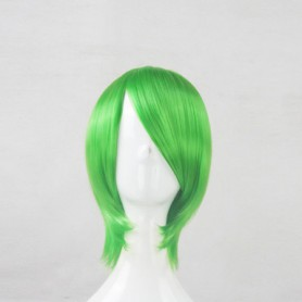 Akame Ga Kill! Lubbock Green Cosplay Wig