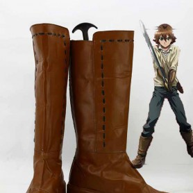 Akame Ga Kill! Tatsumi Cosplay Combat Boots