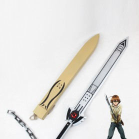 Akame ga Kill! Tatsumi Incursio Sword Cosplay Prop