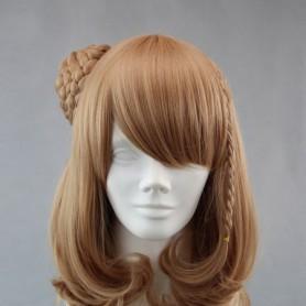 Amnesia Cosplay Heroine Brown Cosplay Wig