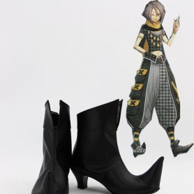 Amnesia Cosplay Orion Black Short Boots