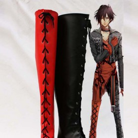 Amnesia Cosplay SHIN Two-toned High Cosplay Boots