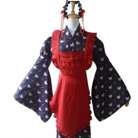 Amnesia Heroine Sawa Mine Cosplay Kimono