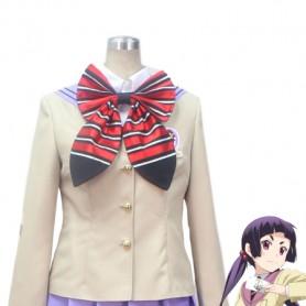 Ao No Exorcist Izumo Kamiki True Cross Academy Girls' School Uniform Cosplay Costume