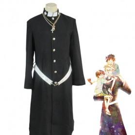Ao No Exorcist Shiro Fujimoto Priest Uniform Cosplay Costume