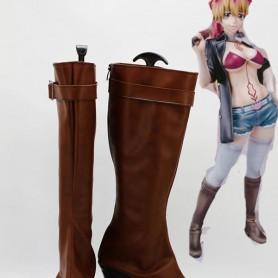 Ao No Exorcist Shura Kirigakure Cosplay Boots