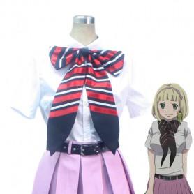 Ao no Exorcist Shiemi Moriyama True Cross Academy School Uniform Cosplay Costume