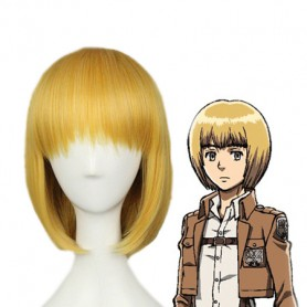 Attack on Titan Armin Arlart Cosplay Wig