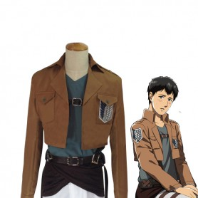 Attack on Titan Bertholdt Fubar Cosplay Costume Scouting Legion Uniform