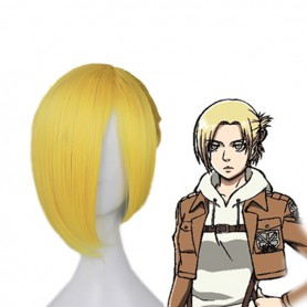 Attack on Titan Cosplay Annie Leonhardt Cosplay Wig