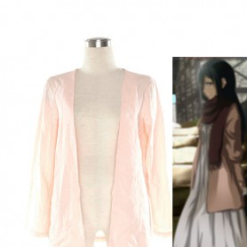 Attack on Titan Mikasa Ackerman Cosplay Costume