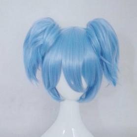 Blue Assassination Classroom Class 3-E Nagisa Shiota Cosplay Wig