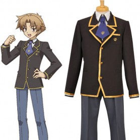 Baka to Test to Shoukanjuu Boys' School Uniform Cosplay Costume
