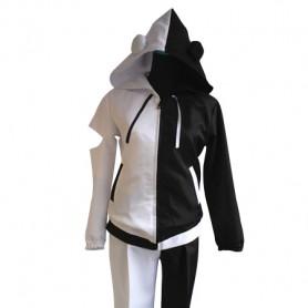 Black & White Dangan Ronpa Monokuma Cosplay Costume