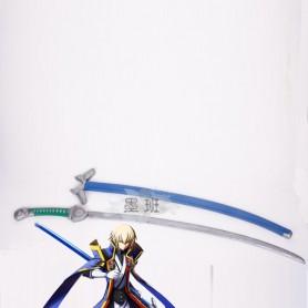 BlazBlue Alter Memory Jin Kisaragi Cosplay Sword