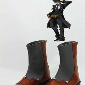 BlazBlue Cosplay Hazama Short Cosplay Boots