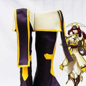 BlazBlue Cosplay Tsubaki Yayoi Battle Cosplay Boots