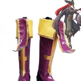 BlazBlue Cosplay Tsubaki Yayoi Cosplay Boots