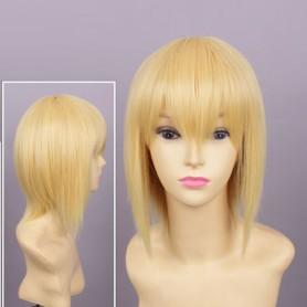 BlazBlue Noel Vermillion Short Cosplay Wig