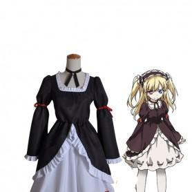 Boku wa Tomodachi ga Sukunai Kobato Hasegawa Cosplay Gothic Loltia Dress