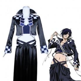 Brave 10/ Brave Ten Roruko Unno Cosplay Costume