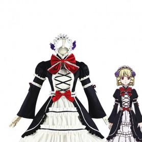 Brynhildr in the Darkness Kana Tachibana Cosplay Costume/Gothic Dress