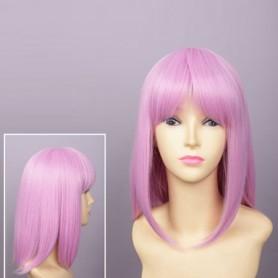Brynhildr in the Darkness Kazumi Schlieren-Sauer Pink Cosplay Wig