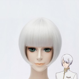 Cute High Earth Defense Club LOVE! Kinshiro Kusatsu Silver Cosplay Wig