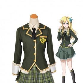 I Have Few Friends Sena Kashiwazaki School Uniform Cosplay Costume