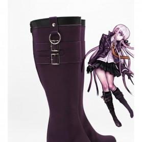 Dangan Ronpa Kyoko Kirigiri Cosplay Boots