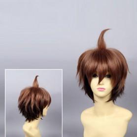 Dangan Ronpa Makoto Naegi Cosplay Wig