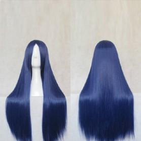 Dangan Ronpa Sayaka Maizono Blue Cosplay Wig
