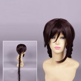 Dangan Ronpa Touko Fukawa Black Cosplay Wig