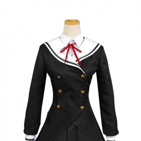 Date A Live Cosplay Tobiichi Origami Cosplay Sailor Costume