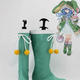 Date A Live Cosplay Yoshino Cosplay Boots