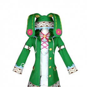 Date A Live Cosplay Yoshino Green Cosplay Costume