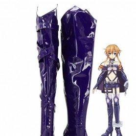 Date A Live Yamai Yuzuru Hight Hell Cosplay Boots