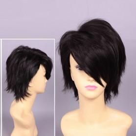 Devils and Realist Dantalion Black Short Cosplay Wig