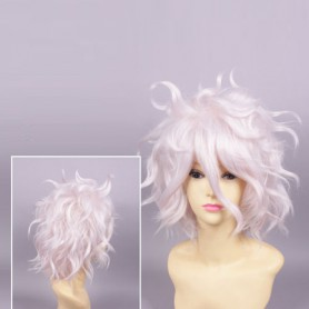 Super Dangan Ronpa 2 Cosplay Nagito Komaeda Cosplay Short Wig