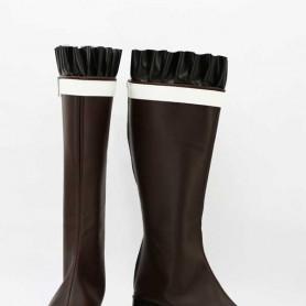 Diabolik Lovers Yui Komori Brown Cosplay Boots