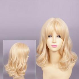 Diabolik Lovers Yui Komori Curly Blonde Cosplay Wig