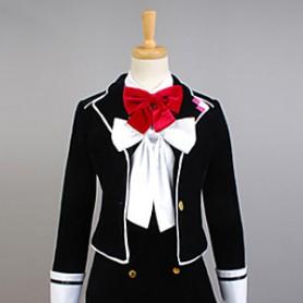 Diabolik Lovers Yui Komori Girl's School Uniform Cosplay Costume