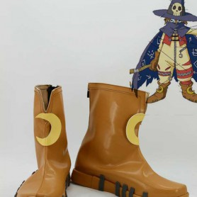 Digimon Adventure Angewomon Khaki Cosplay Boots