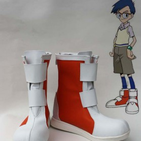 Digimon Adventure Joe Jou Kido Short Cosplay Boots