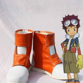 Digimon Adventure Taichi Short Cosplay Boots