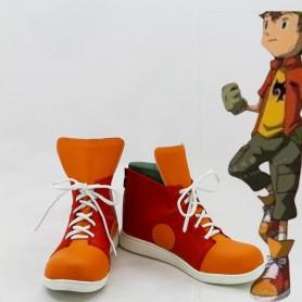 Digimon Adventure Takuya Kanbara Cosplay Boots