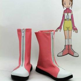 Digimon Adventure Yagami Hikari Cosplay Boots